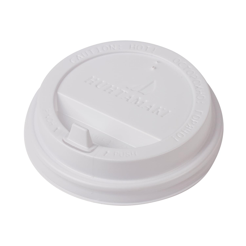 Одноразовая крышка д/стакана (диаметр d-90), КОМПЛЕКТ 100 шт., ПС, ХУХТАМАКИ SP16, DW12