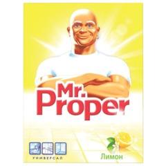 """Чистящее средство 400 г, MR.PROPER (Мистер Пропер) """"Лимон"""", универсал, порошок"""