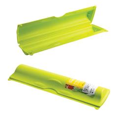 Футляр для фольги и пленки отрывной зажим, 5х9х34 см, цвет салатовый, IDEA