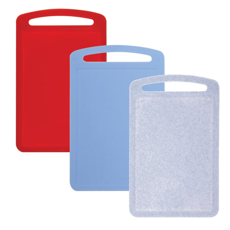Доска разделочная пластиковая, 0,8х19,5х31,5 см, цвет микс (разноцветный), IDEA