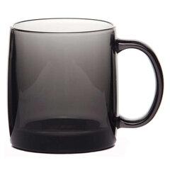Кружка для чая и кофе, объем 380 мл, тонированное стекло/графит, Nordic, LUMINARC, H9151