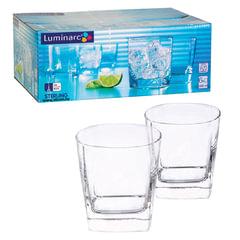 Набор стаканов для сока и виски, 6 шт., 300 мл, низкие, стекло, Sterling, LUMINARC