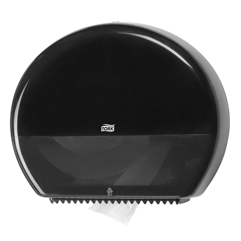 Диспенсер для туалетной бумаги TORK (Система T1) Elevation, черный, 554008