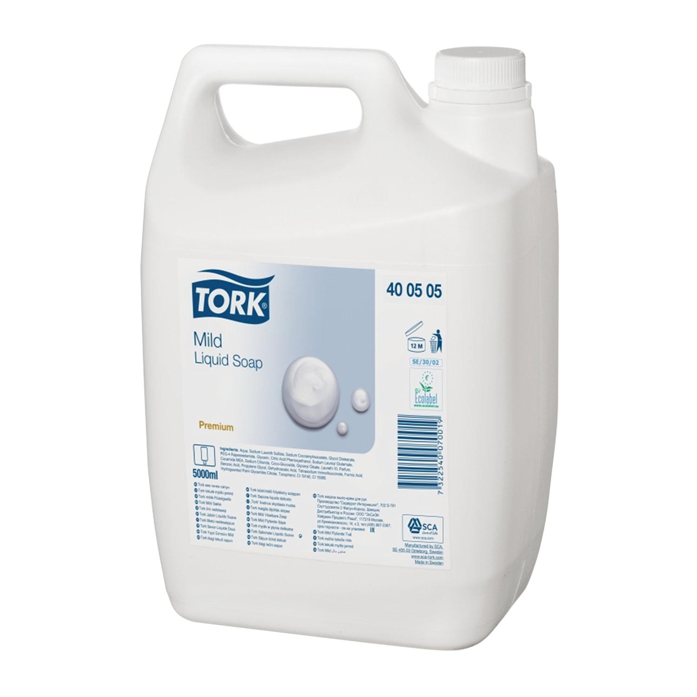 Мыло-крем жидкое TORK Premium, 5 л, 400505