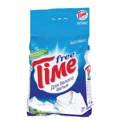 """Стиральный порошок-автомат, 3 кг, FREE TIME (Фри Тайм) """"Для белого"""" (Нэфис Косметикс)"""