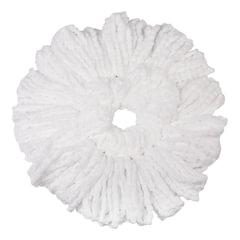 "Насадка МОП для швабры ЛАЙМА ""Бюджет"", круглая, диаметр 16 см, микрофибра (швабра 603623 )"
