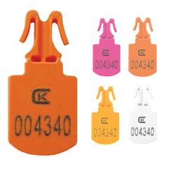 Пломбы пластиковые номерные МИНИ, для опломбирования сумок, контейнеров, цвет ассорти, КОМПЛЕКТ 250 шт.