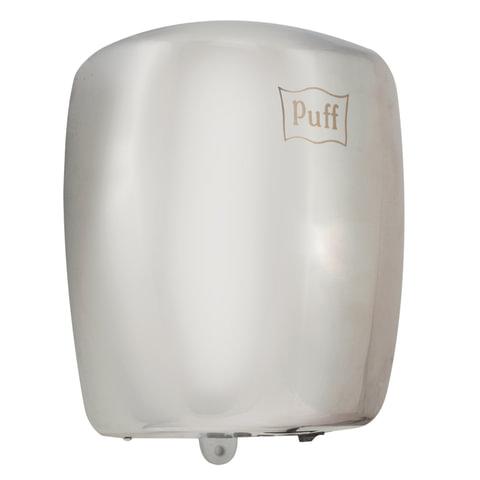 Сушилка для рук PUFF 8887, 1200 Вт, скорость потока 50 м/с, нержавеющая сталь, серебристая