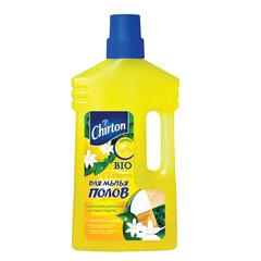 """Средство для мытья пола 1 л, CHIRTON (Чиртон), не содержит фосфатов, """"Лимон"""""""