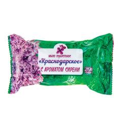 """Мыло туалетное 200 г, Краснодарское, (Меридиан), """"Сирень"""""""