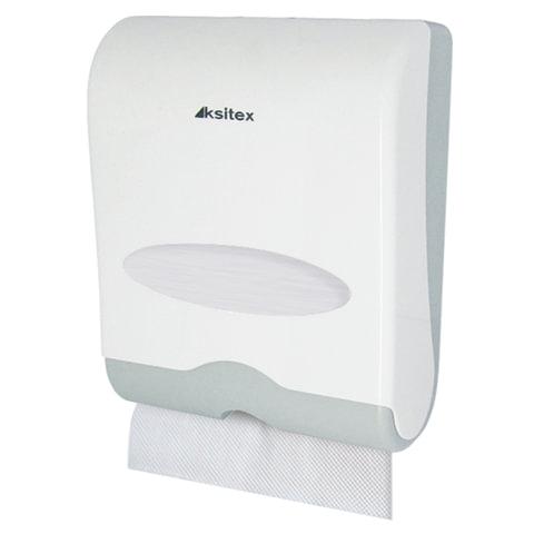 Диспенсер для полотенец KSITEX, V/Interfold, белый (полотенца 124556-557, 126094-097), ТН-603HW