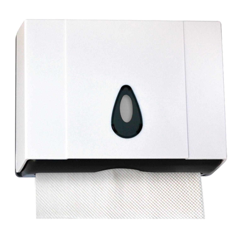 Диспенсер для полотенец KSITEX (Система Н2), Interfold, mini, белый, ТН-8025A