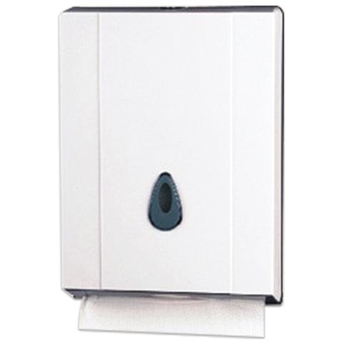 Диспенсер для полотенец KSITEX, Interfold, белый (полотенца 126096, 126097), ТН-8035A