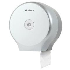 Диспенсер для туалетной бумаги KSITEX (Система Т4), в стандартных рулонах, серебристый, ТН-8127F