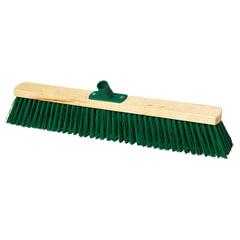 Щетка для уборки техническая, ширина 60 см, щетина 7,5 см, деревянная, еврорезьба, YORK