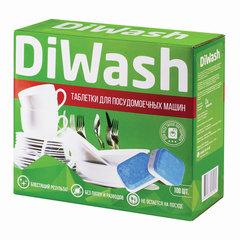 Таблетки для посудомоечных машин 100 штук, DIWASH