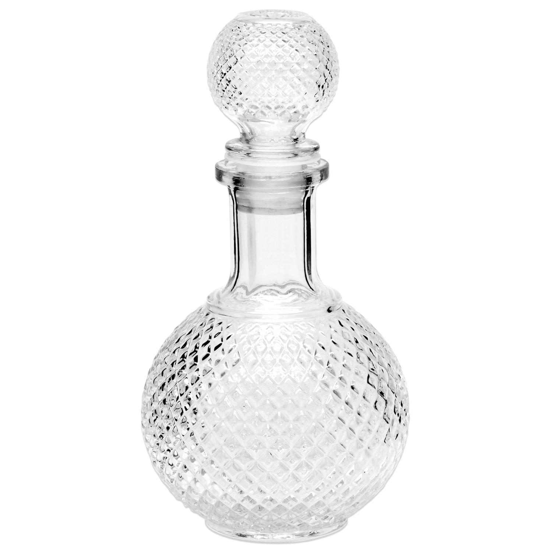 """Графин-штоф 1 л, стеклянный, декоративная крышка-заглушка, """"Baron"""", CN02004"""