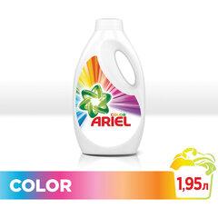 Средство для стирки жидкое автомат 1,95 л, ARIEL (Ариэль) Color, гель