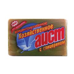 Мыло хозяйственное 150 г, АИСТ, с глицерином