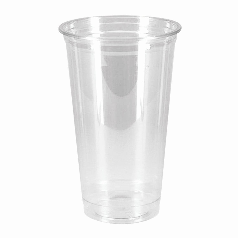"""Одноразовые стаканы 500 мл, КОМПЛЕКТ 50 шт, прозрачные, """"КРИСТАЛЛ"""", ПЭТ, холодное/десерты, СТИРОЛПЛАСТ"""