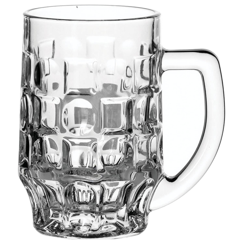 """Набор кружек для пива, 2 шт., объем 500 мл, фактурное стекло, """"Pub"""", PASABAHCE, 55289"""
