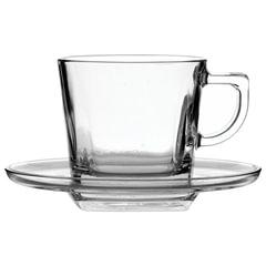 """Набор чайный, на 6 персон (6 чашек объемом 210 мл, 6 блюдец), стекло, """"Baltic"""", PASABAHCE, 95307"""