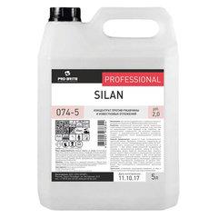 Средство для чистки посудомоечных и стиральных машин 5 л, PRO-BRITE SILAN, от минеральных отложений, кислотное