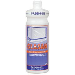"""Средство для мытья стекол и зеркал 1 л, DR.SCHNELL """"GLASAN"""", щелочное, для окон, стеклянных витрин"""