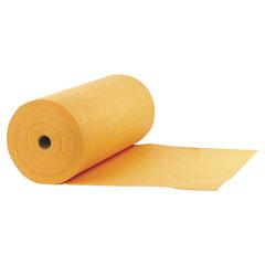 Тряпки для мытья пола в рулоне 75 шт., 50х60 см, вискоза (ИПП), 160 г/м2, оранжевые, LAIMA EXPERT, 605496