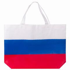 "Сумка ""Флаг России"" триколор, 40х29 см, нетканое полотно, BRAUBERG, 605519"
