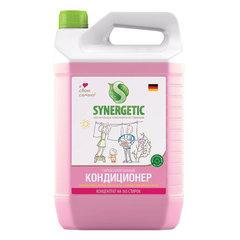 """Кондиционер-ополаскиватель для белья 5 л SYNERGETIC """"Аромагия"""", гипоаллергенный, концентрат"""