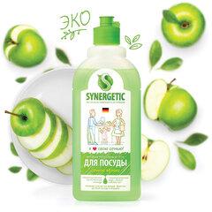 """Средство для мытья посуды антибактериальное 500 мл SYNERGETIC """"Яблоко"""""""