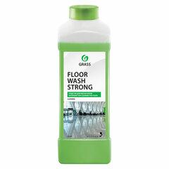 Средство для мытья пола 1 л GRASS FLOOR WASH STRONG, щелочное, низкопенное, концентрат