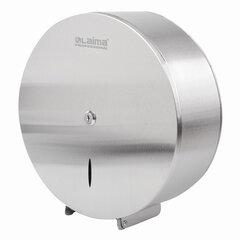 Диспенсер для туалетной бумаги LAIMA PROFESSIONAL INOX, (Система T1) БОЛЬШОЙ, нержавеющая сталь, матовый, 605700