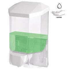 Диспенсер для жидкого мыла LAIMA PROFESSIONAL ORIGINAL, НАЛИВНОЙ, 0,5 л, прозрачный, пластик, 605772