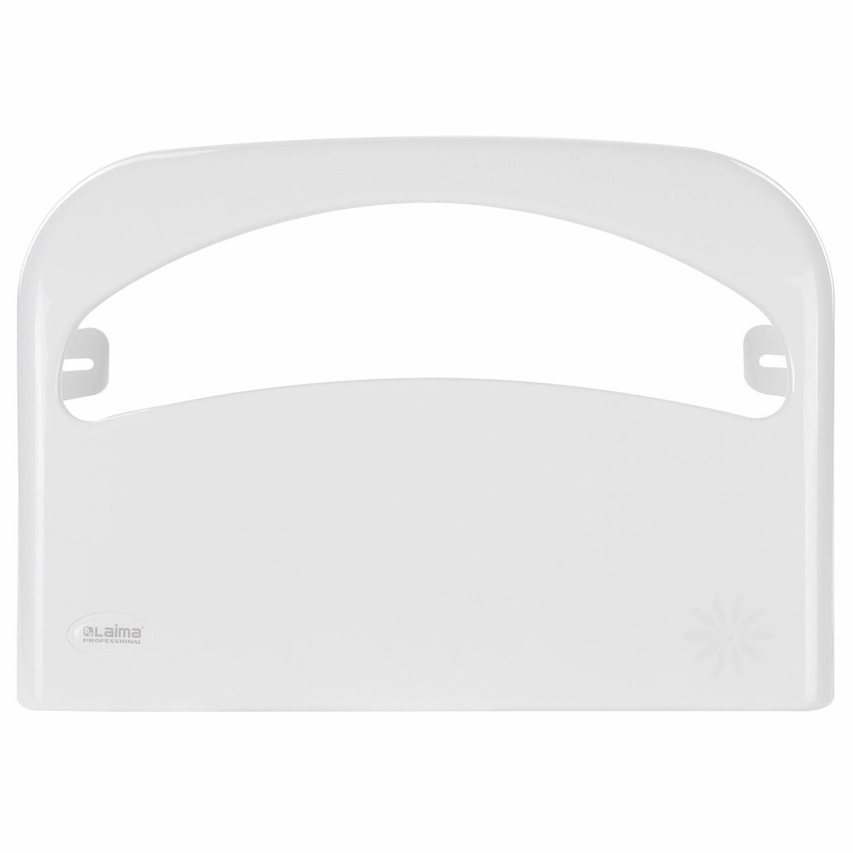 Диспенсер для покрытий на унитаз LAIMA PROFESSIONAL ORIGINAL (Система V1), 1/2 сложения, белый, ABS-пластик, 605785