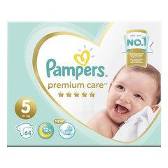 "Подгузники, 64 шт., PAMPERS (Памперс) ""Premium Care"", размер 5 (11+ кг)"