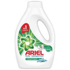 """Средство для стирки жидкое автомат 1,04 л ARIEL (Ариэль) """"Горный родник"""", гель, концентрат"""