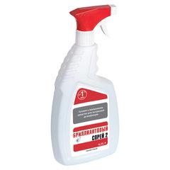 Средство дезинфицирующее спиртосодержащее (65%) с распылителем 750мл БРИЛЛИАНТОВЫЙ СПРЕЙ 2, готовый раствор