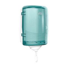 Диспенсер для полотенец с центральной вытяжкой МИНИ, Tork (Система М3) Reflex, голубой