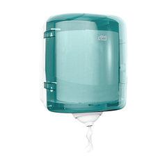 Диспенсер для полотенец с центральной вытяжкой, Tork (Система М4) Reflex, голубой