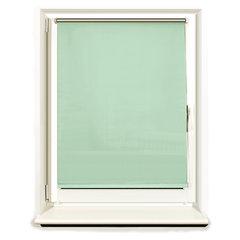 Штора рулонная светонепроницаемая (Блэкаут) BRABIX 70х175 см, светло-зеленый/серебро, 606012