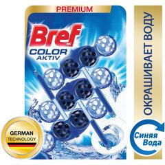 """Блок туалетный подвесной твердый 3 шт. х 50 г BREF (Бреф) Activ, """"С хлор-компонентом"""""""