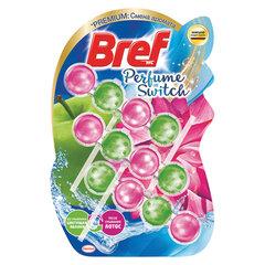 "Освежитель WC (для туалета) твердый 3х50 г BREF (Бреф) Perfume Switch, ""Яблоня-лотос"""