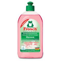 "Средство для мытья посуды 500 мл FROSCH ""Малина"" (Германия), гель, концентрат, ЭКО, пуш-пул"