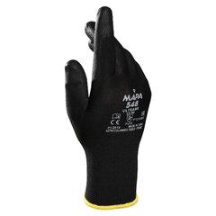 Перчатки нейлоновые MAPA Ultrane 548, полиуретановое покрытие (облив), размер 9 (L), черные