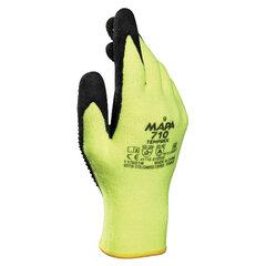 Перчатки текстильные MAPA TempDex 710, нитриловое покрытие, высокая степень термозащиты, размер 9 (L)