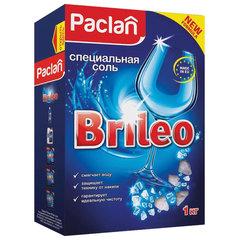 Соль от накипи в посудомоечных машинах 1 кг PACLAN Brileo