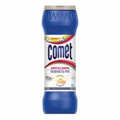 """Чистящее средство 475 г COMET """"Лимон"""", БЕЗ ХЛОРИНОЛА, порошок"""