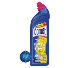 """Чистящее средство дезинфицирующее 850 мл COMET (Комет) """"Лимон"""", гель"""